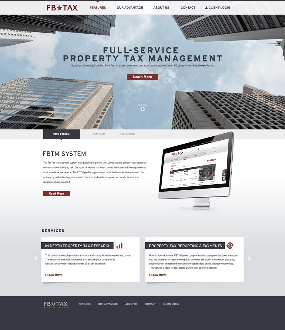 Flanagan Bilton Website Design