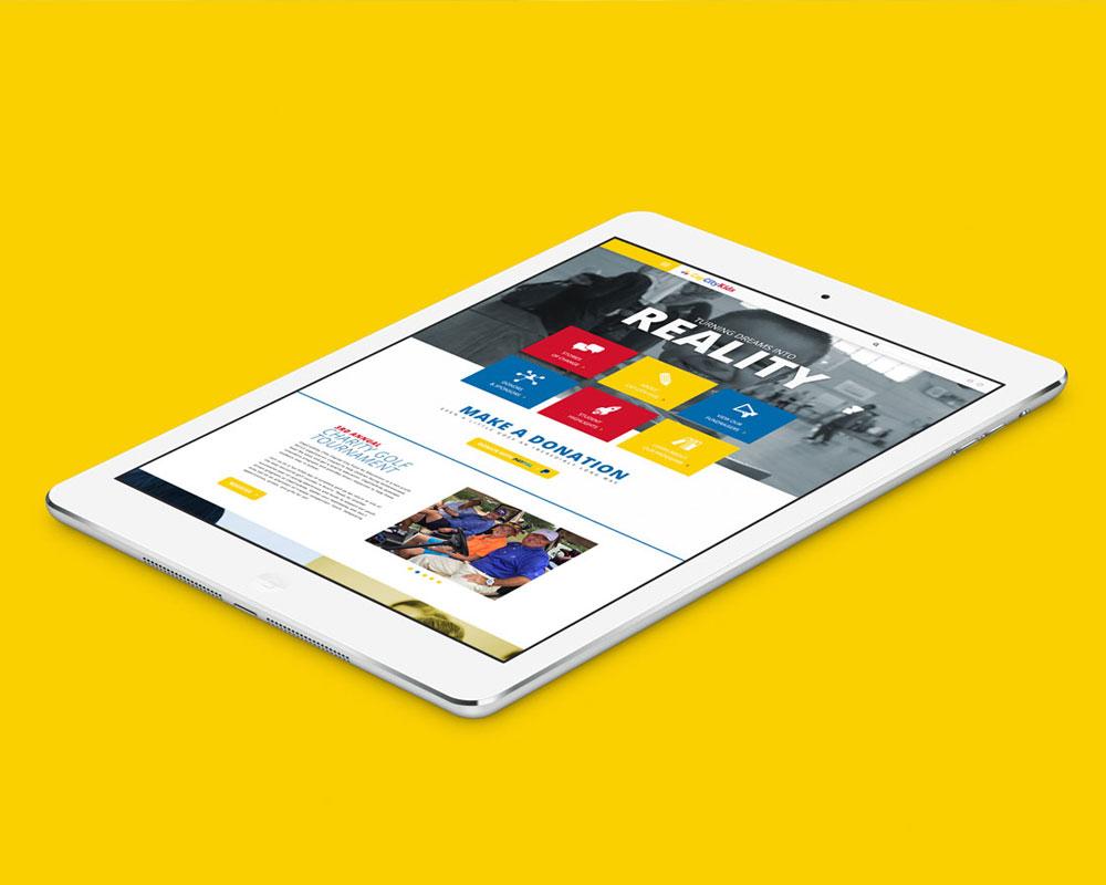 Cap City Kids Responsive Website Design