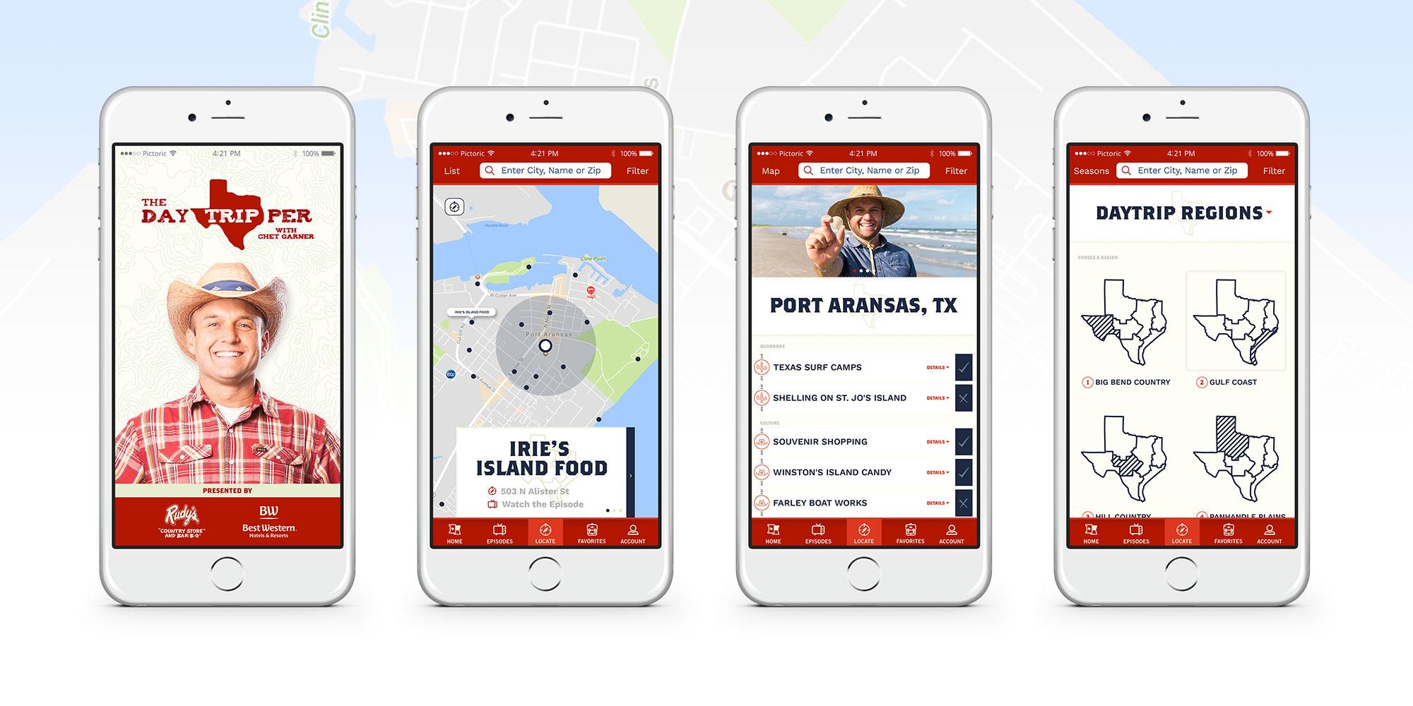 The Daytripper App Design