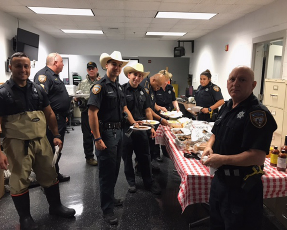 Houston Police Hurricane Harvey