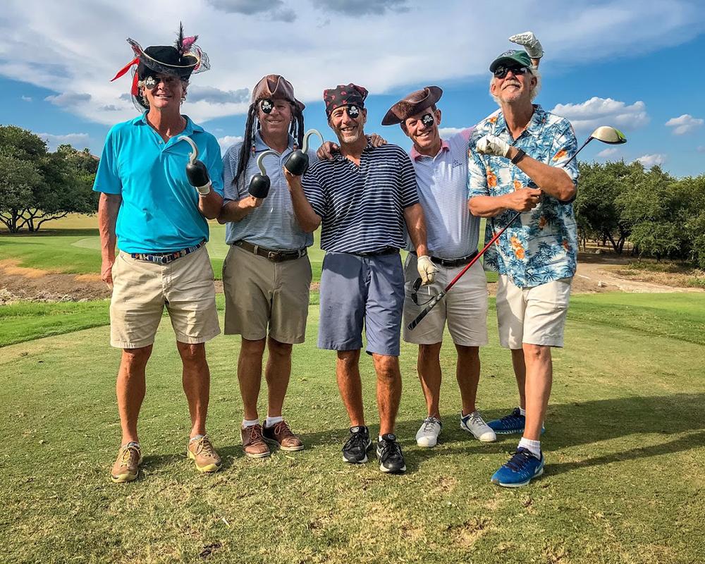 Pirate's Cup Golf Event Design