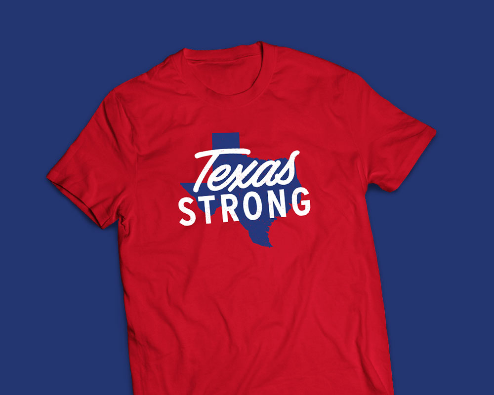 Rudy's Texas Strong Shirt Design