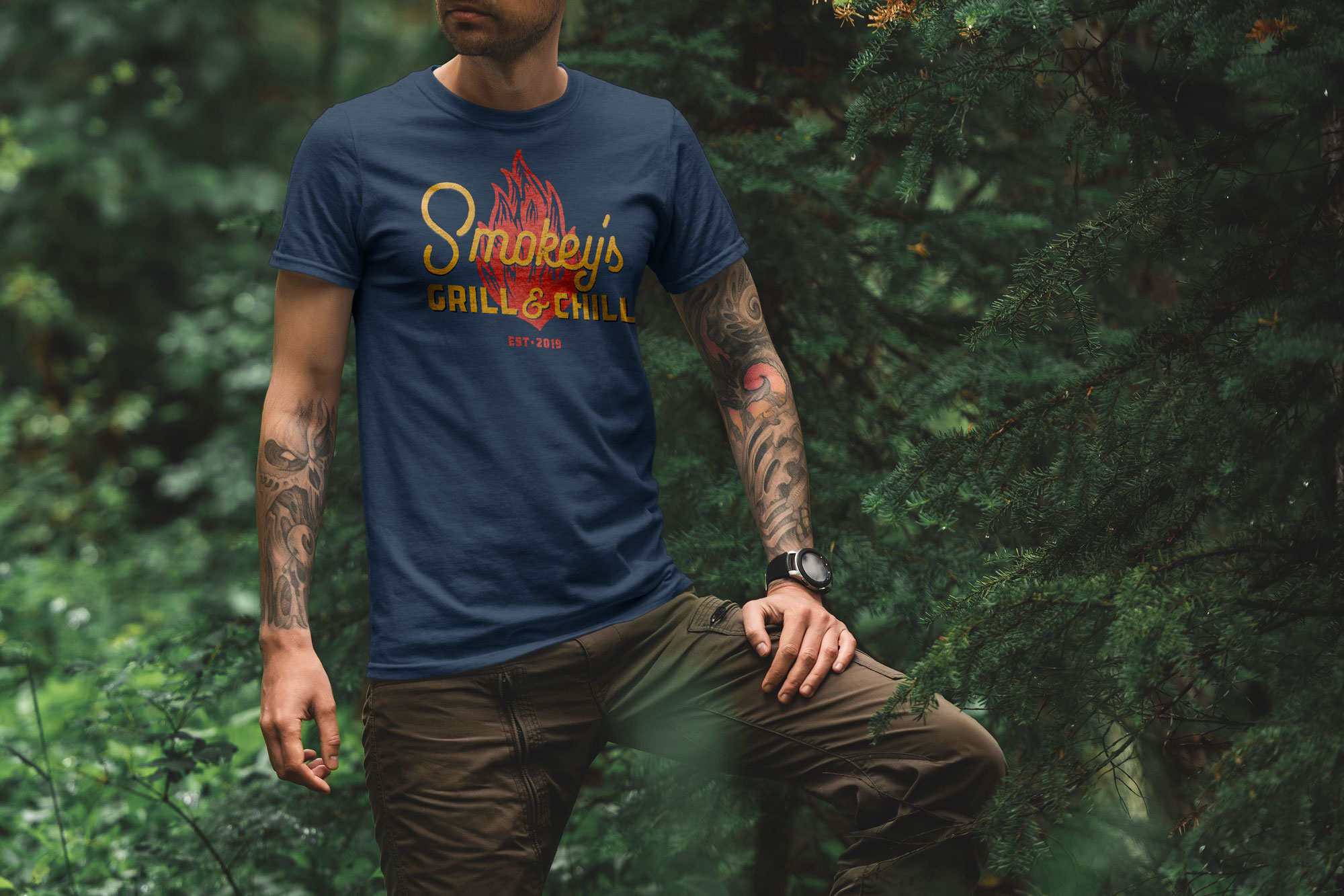 Smokey's Shirt Design